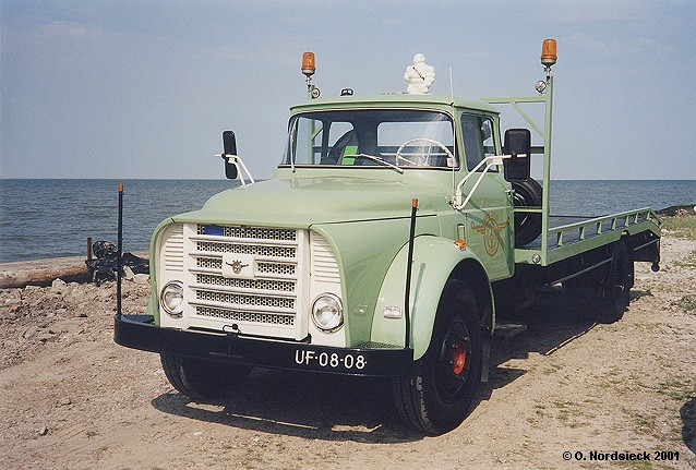 1962 DAF T 13 Torpedo Autotransporter