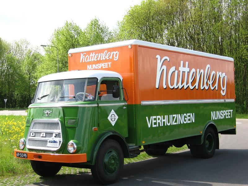 1962 Daf verhuiswagen