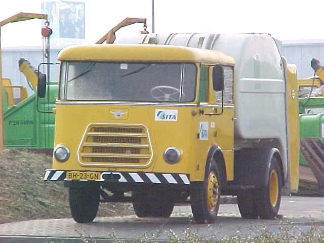 1962 DAF Vuilnis Sita museumwagen2