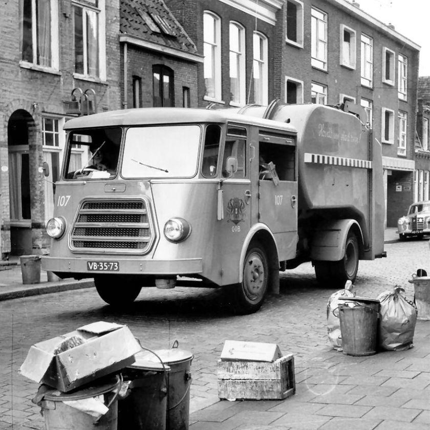 1962 DAF Vuilnis Trommelwagen