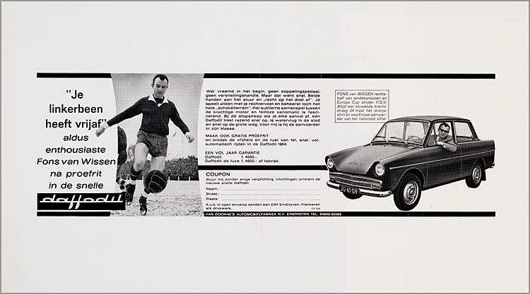 1963-68 DAF Advertentieplakboek b