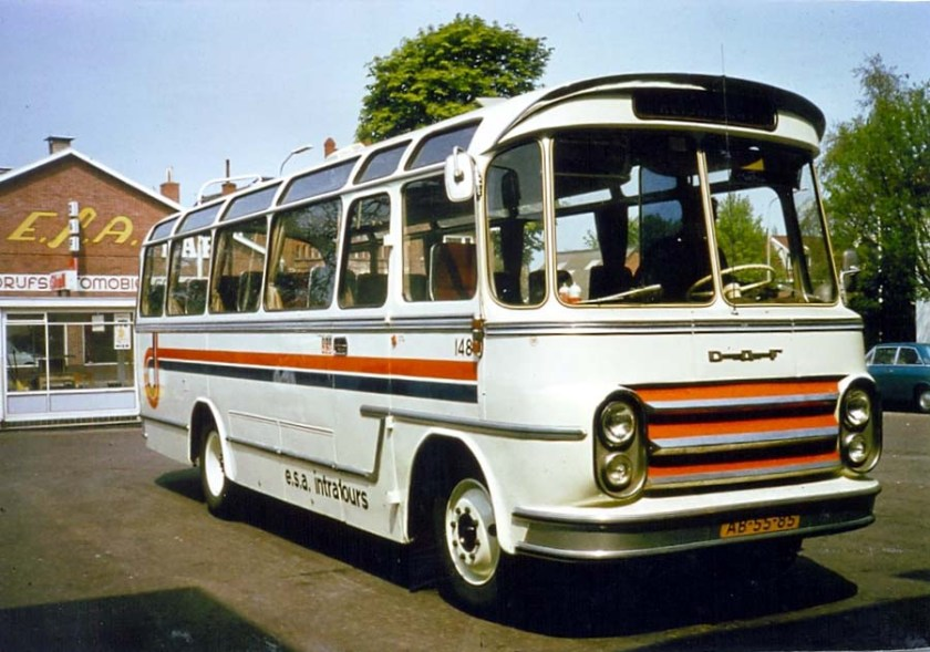 1963 DAF ESA Intratours 148 Groenewold
