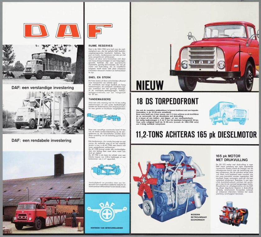 1964 DAF Bedrijfsauto's 165 PK c
