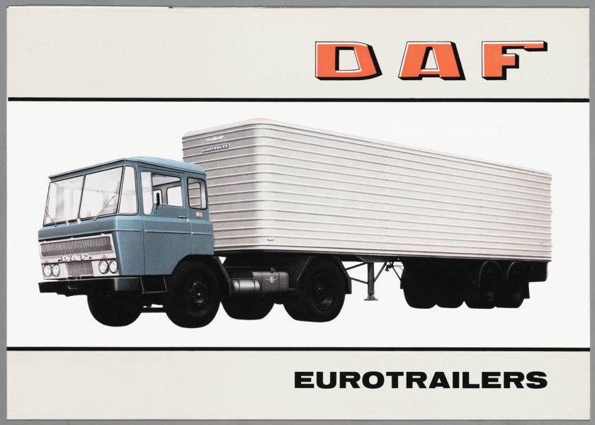1964 DAF Eurotrailers a