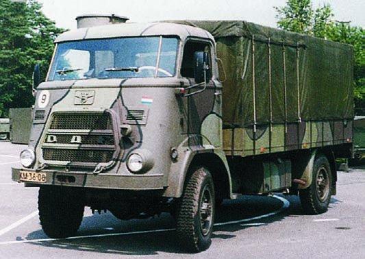 1964 DAF V-1300BB, 4x4