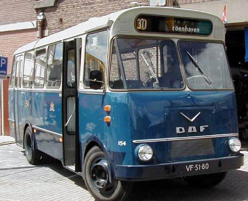 1964 Daf Verheul GVB 154 Amsterdam
