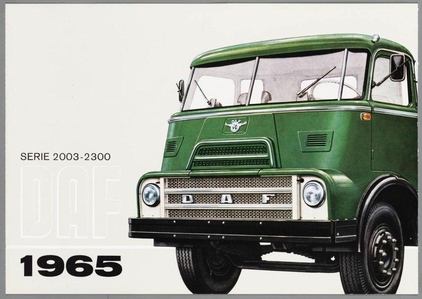 1965 DAF 2000-2300 a