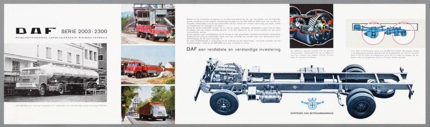 1965 DAF 2003-2300 c