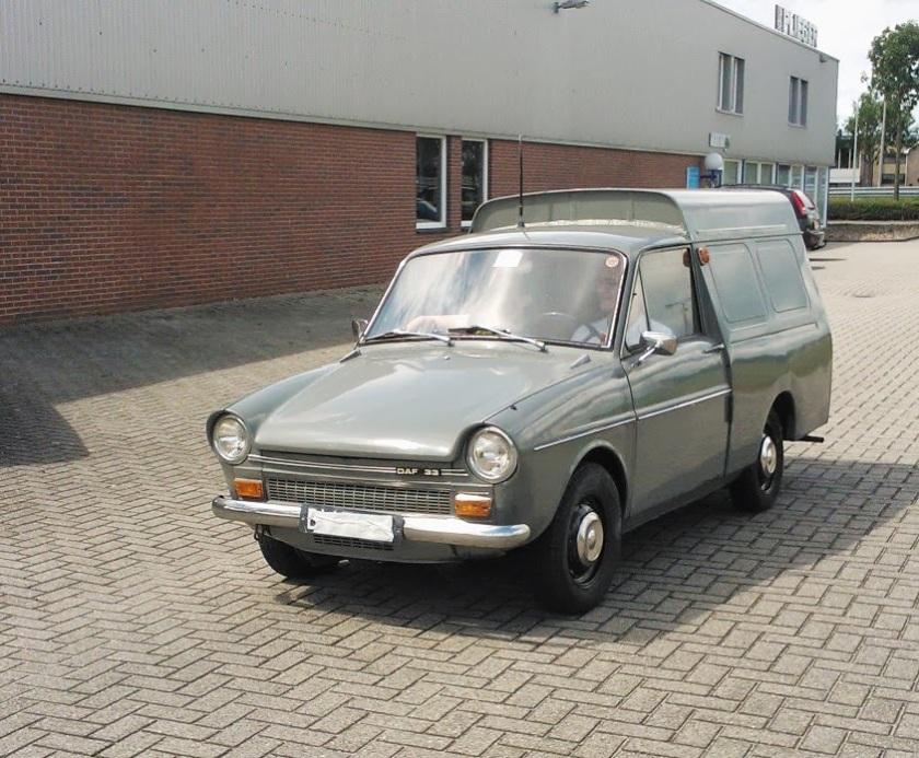 1965 DAF 33 bestel PTT
