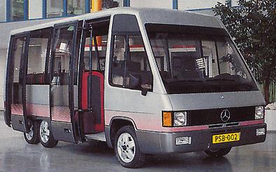 1991 Duvedec Citybus 2399cc 4cyl Mercedes Benz