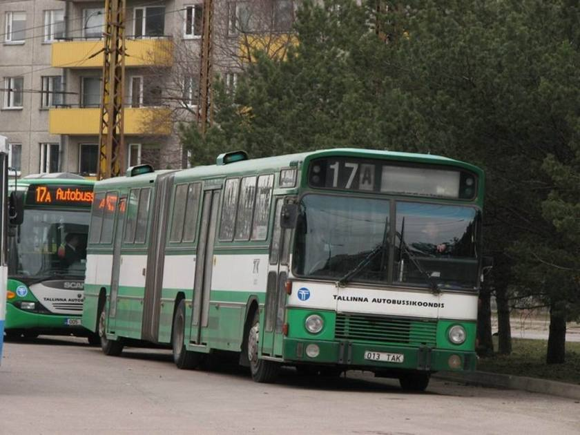 Bussen Aabenraa 1984 Tallin Estonia