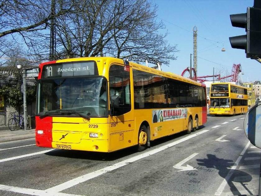 Bussen Aabenraa 2003 Kopenhagen Denemarken