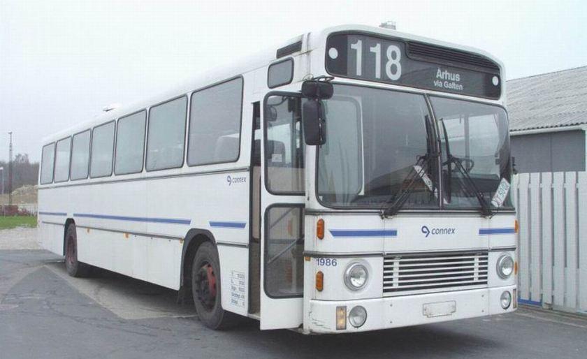 Bussen AABENRAA - VOLVO B10M 60