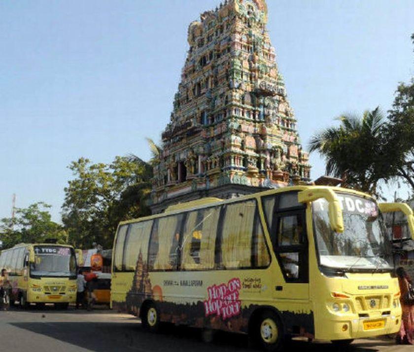 Bussen ABC hop-on-hop-off Tamil bus