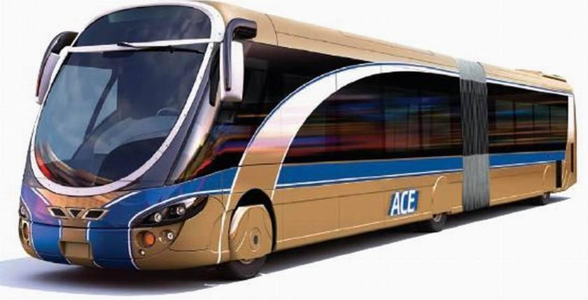 Bussen ACE-bus 2009