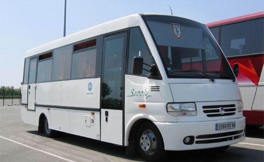 Bussen ACEV Minibus Scooly carrossé par ACEV sur châssis RVI Mascott
