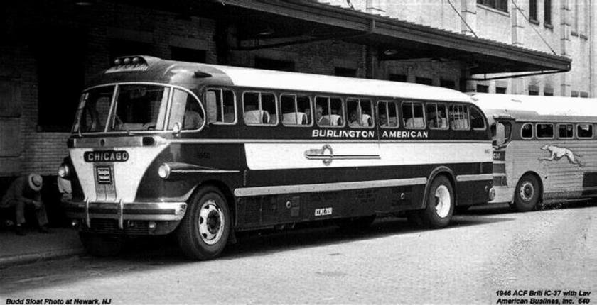 Bussen ACF Brill IC37 American Bus Lines 1946