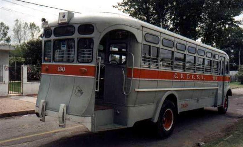 Bussen ACLO = AEC South America 1938 Uraguay b