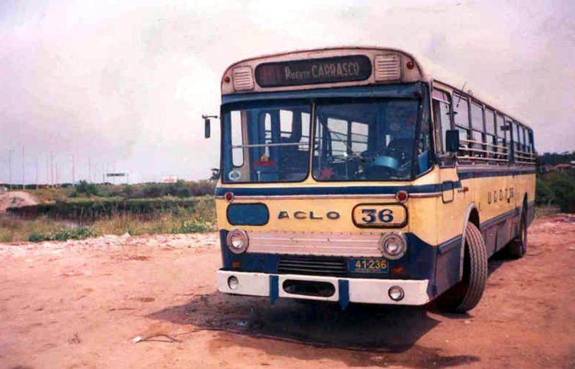 Bussen ACLO mark IV = URUQUAY AEC Verheul
