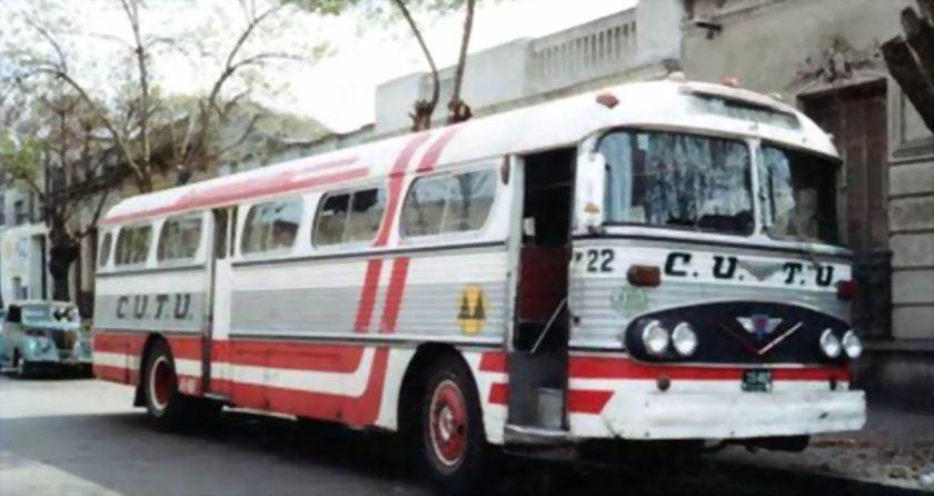 Bussen Aclo Mark VI coche 22 de CUTU