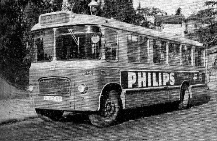 Bussen Aclo Regent III (Seida) 1962 Spanje