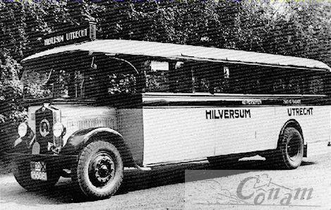 Bussen Asjes-Minerva(chassis)-Kromhout(motor) 1933