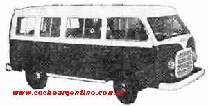bussen autoar panamericano mixto 1958