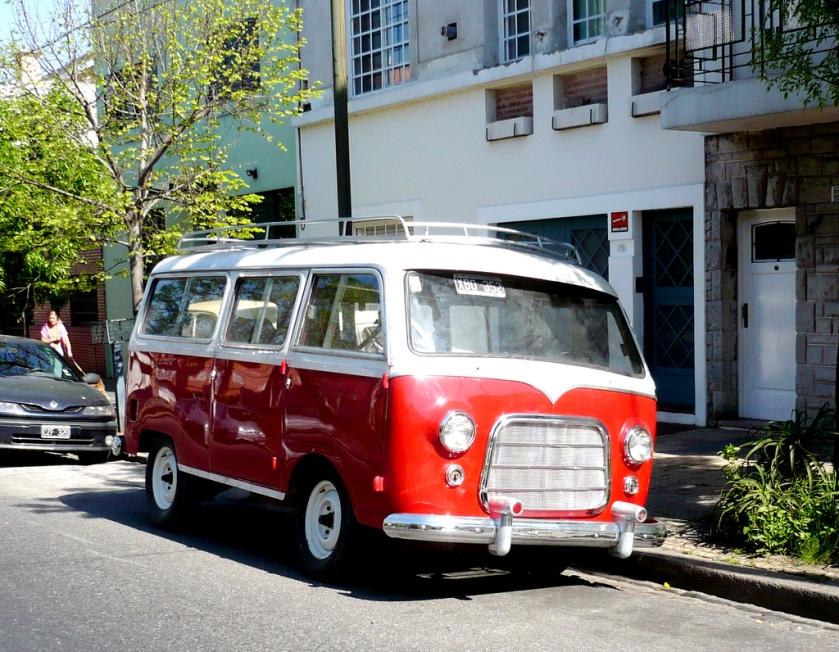 Bussen Autoar simca panamericano 1960