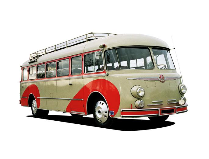 Bussen Autocar 3009 ISOBLOC type 648 DP 102 (1954)