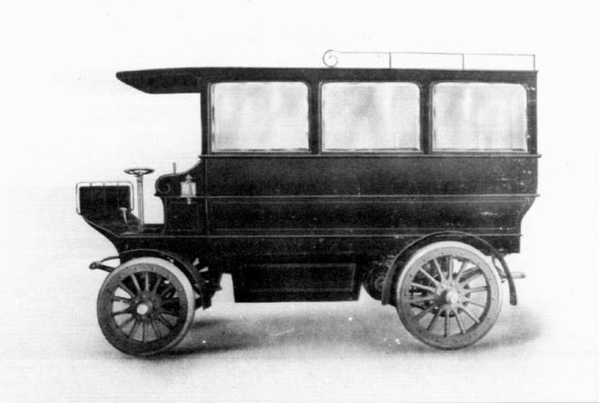 Bussen AutoCar  Electric New York 1907