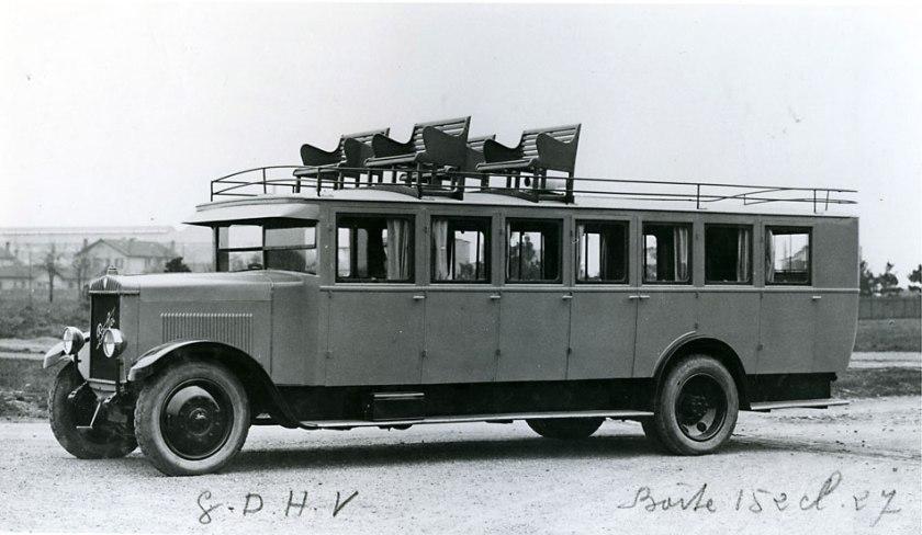 Bussen Autocar GDHV 1927