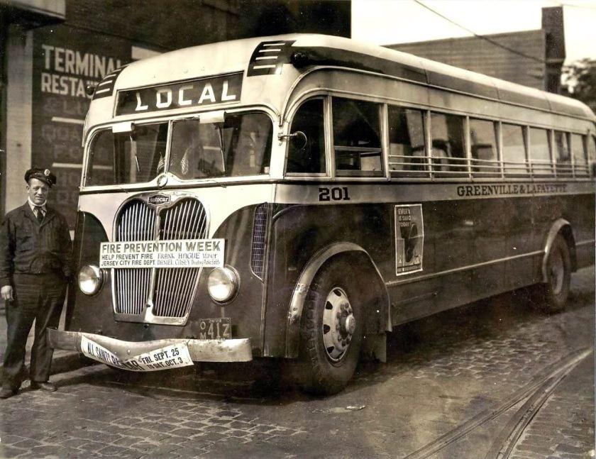 Bussen Autocar GreenvilleLafayetteAutocar1942--3