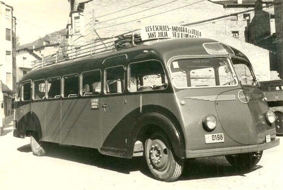 Bussen Autocar Isobloc Bus, 1940s