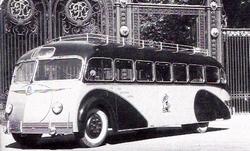 Bussen Autocar ISOBLOC à Lyon années 50