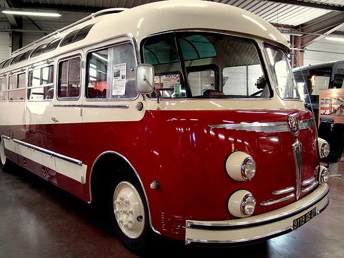 Bussen Autocar Isobloc Museum