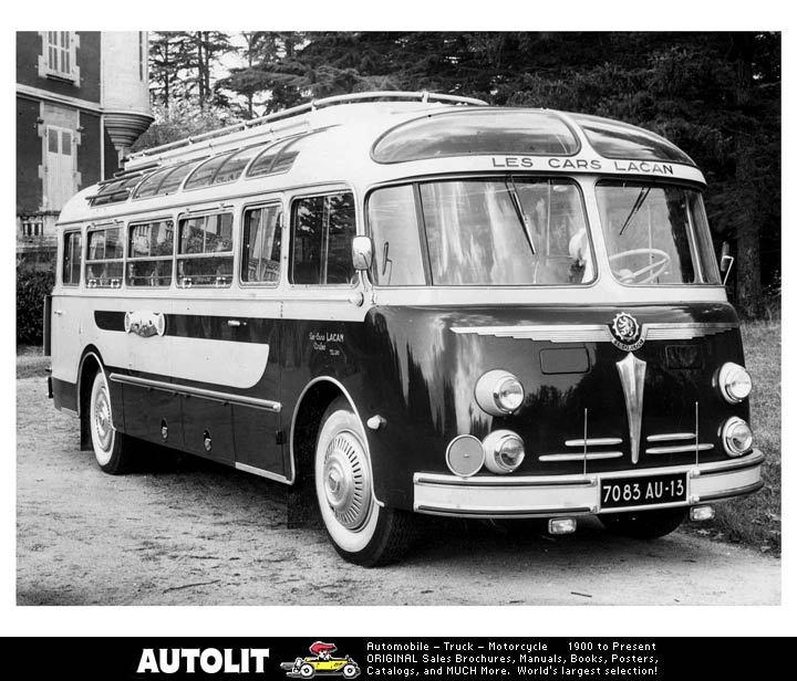 Bussen Autocar Isobloc tourbus 1957