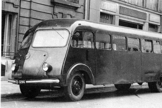 Bussen Autocar ISOBLOC type W 240 F2