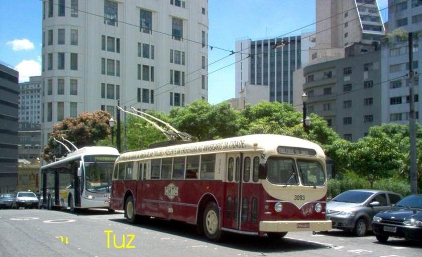 Bussen Brill Trolleybus 3093