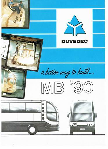 Bussen DUVEDEC MB '90-1