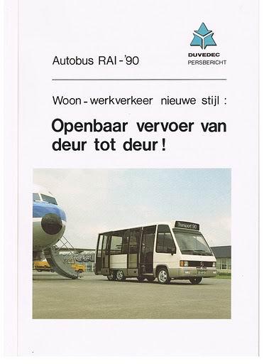 Bussen DUVEDEC RAI 1990