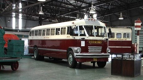 Canadian Brill Car of the South African Railways Road Services VV Knysna George 27