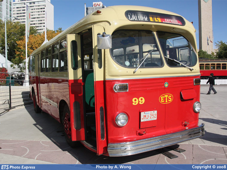 Canadian Car and Foundry C-36 1945-50 Edmonton Transit System 99