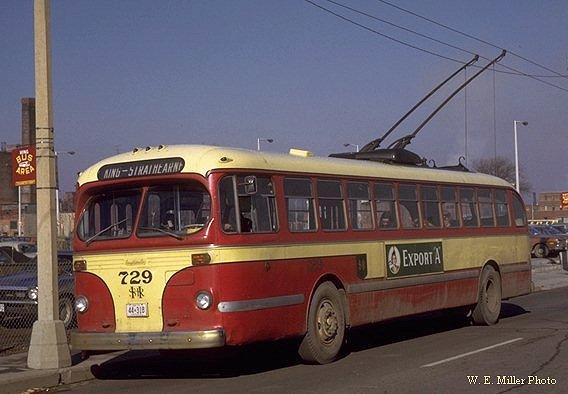 Canadian Car & Foundry delivered 30 Brill T48A trolley coaches to the City
