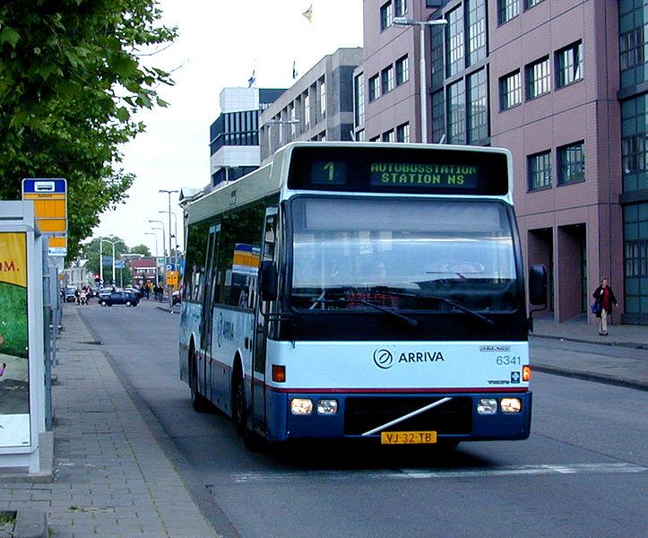 DUVEDEC VOLVO Arriva 6341-III