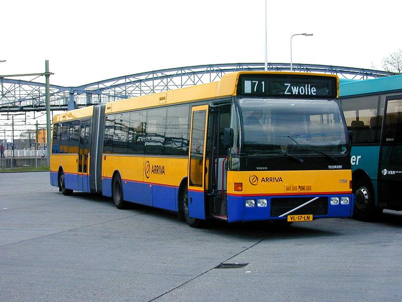 DUVEDEC VOLVO Arriva 7759