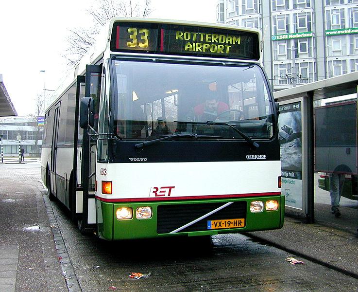 Duvedec Volvo Berkhof RET 683