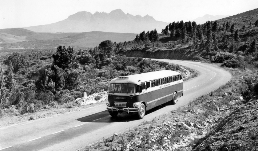 SAR Road Transport Services 41-seater Canadian Brill Bus (1957)