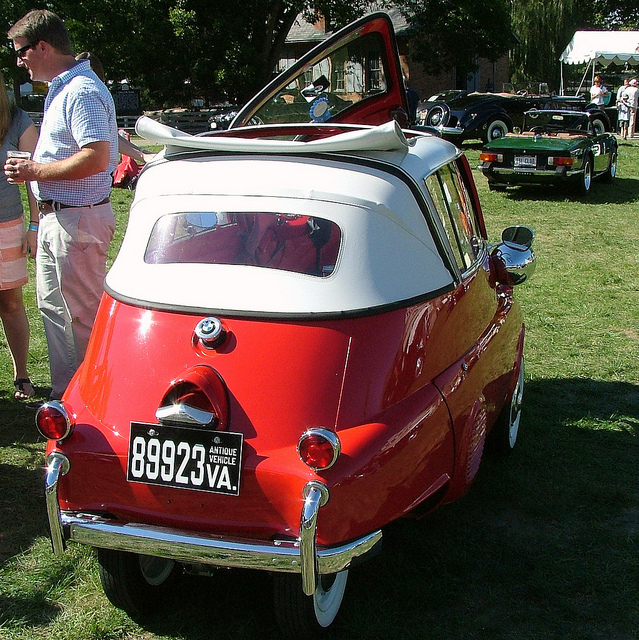000e 1958 BMW Isetta 300 convertible