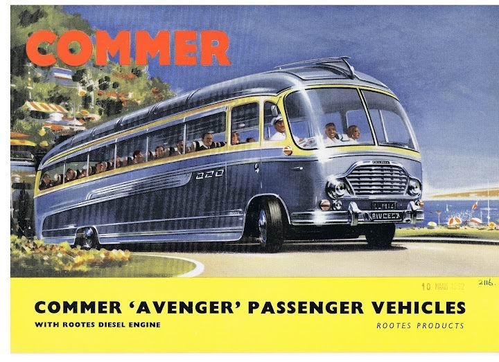 01 1962 Bussen COMMER Avenger