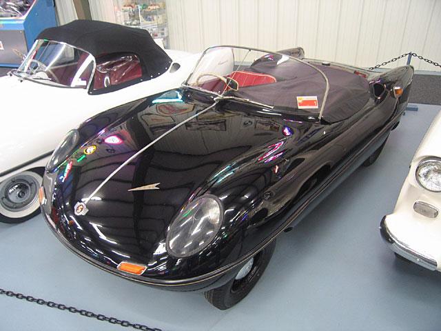 010 Glas Goggomobil Dart-black 1958